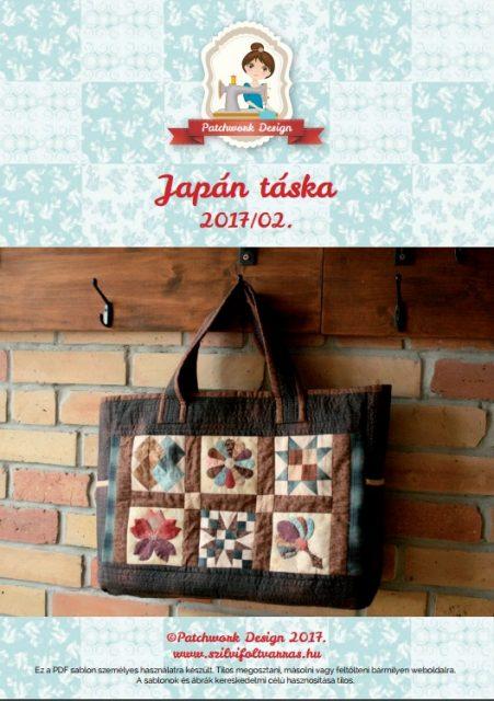 Japán táska borító