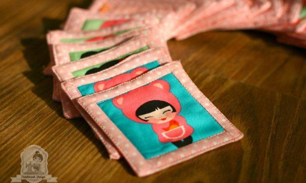 Saját készítésű memóriakártya kislányoknak