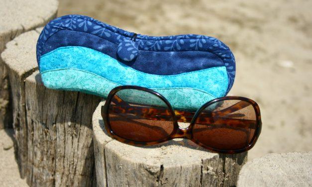 Hogyan készíts patchwork napszemüveg tartót?