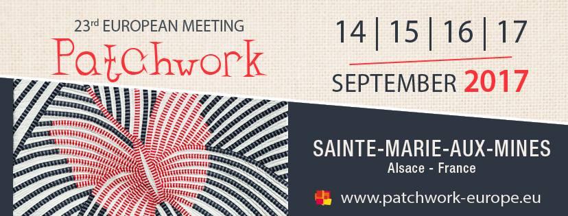 Európai Patchwork Találkozó 2017 szeptember 14-17